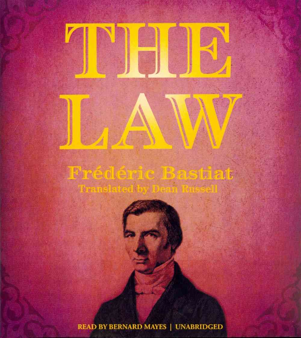 [CD] The Law By Bastiat, Frederic/ Mayes, Bernard (NRT)